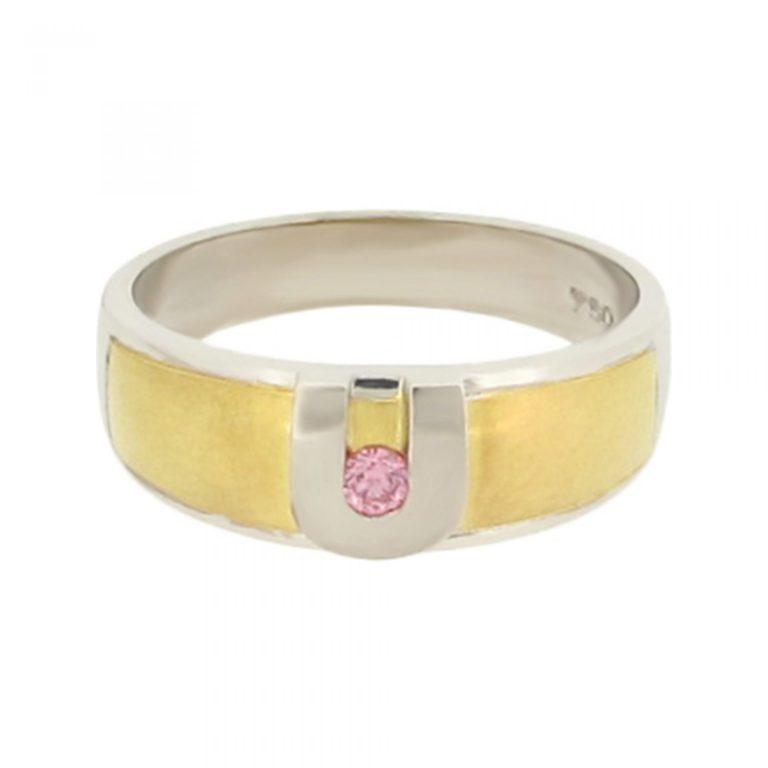 Beautiful Pink Diamond Ring
