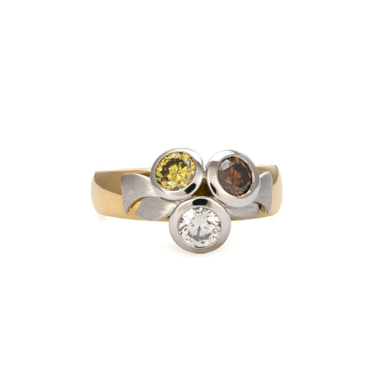 Unique multi coloured Ring