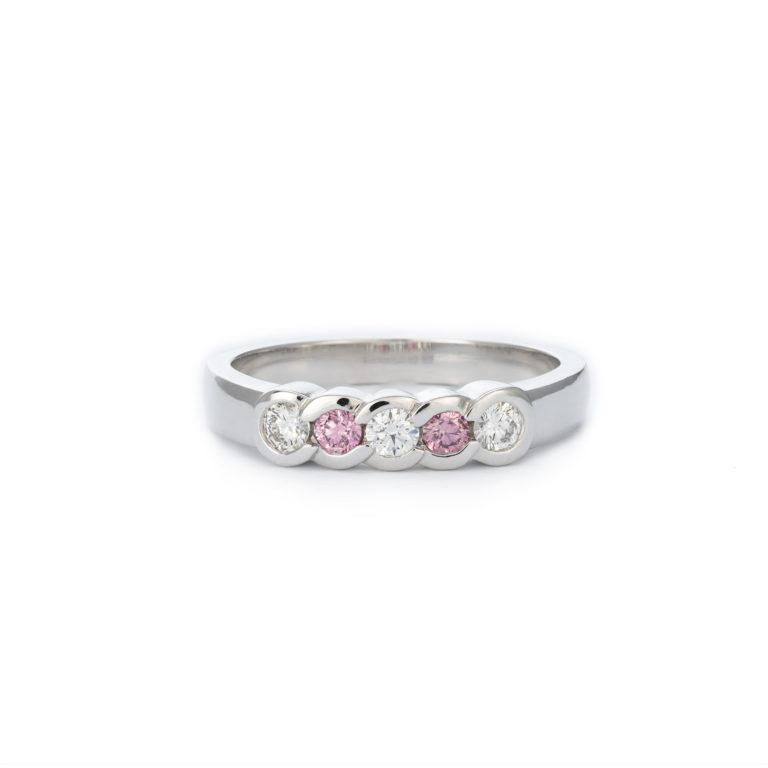 Timeless Pink Diamond Ring